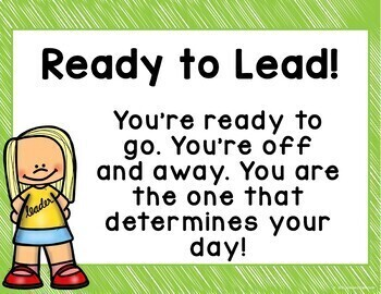 Behavior Clip Chart: Leadership Theme