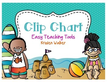 Clip Chart and Notes Home {Beachy Fun}