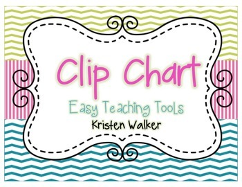 Clip Chart and Notes Home {Chevron & Stripes}