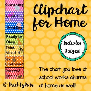 Clip Chart at Home