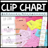 Clip Chart with Behavior Management Sheets - Simple Style