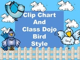 Clip Chart with Class Dojo Points - Bird Style