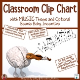 Clip Chart with Music Theme and Beanie Incentive