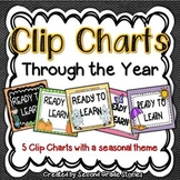 Clip Charts ~ Through the Year