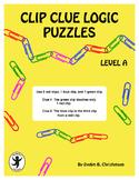 Clip Clue Logic Puzzles Level A