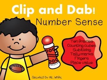 Clip & Dab! Number Sense {10 Interactive Games}