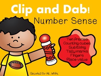 Clip & Dab! Number Sense {10 Interactive Games}