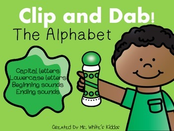 Clip & Dab! The Alphabet {6 Interactive Games}