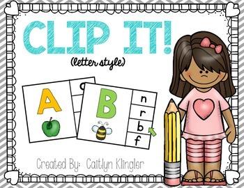 Clip It! {letter style}
