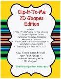 Clip It 2D Shape Game!