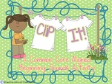 Beginning Sounds for Centers - Clip It!
