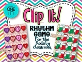Clip It! A Rhythm Game For The Kodaly Classroom {Level One-Ta & Ti-Ti}