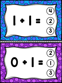 Clip It Activity: Addition to 20