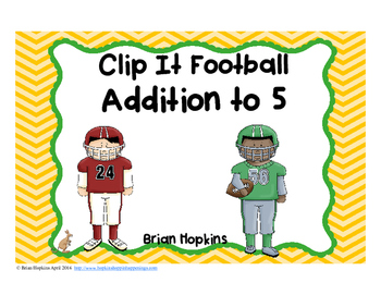 Clip It Addition to 5 Football