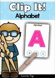 Alphabet Clip It! FREE