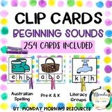 Clip It Alphabet Beginning Sound Cards