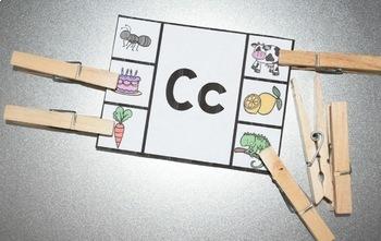Alphabet Activity Center {Clip/Cover-It}