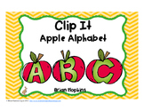 Clip It Apple Alphabet