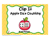 Clip It Apple Dice Counting