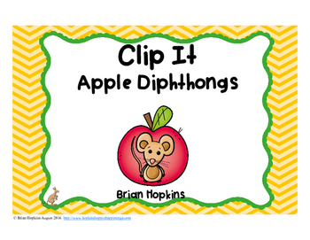 Clip It Apple Diphthongs