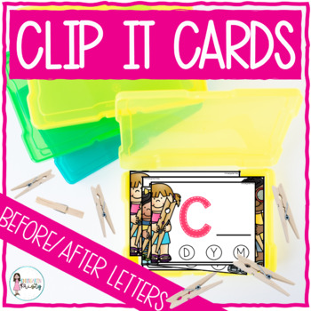 Clip It (Before & After Letters)