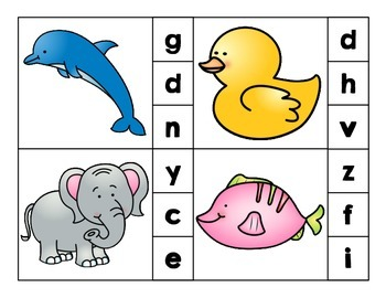Clip It: Beginning Sounds (Animals)