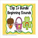 Clip It Beginning Sounds Bundle