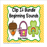Clip It Beginning Sounds Bundle