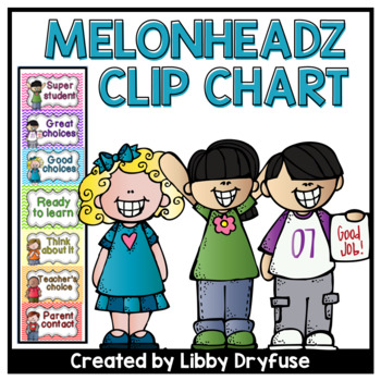 Clip It Behavior Chart {Melonheadz}
