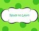 Clip It! Behavior Chart - Polka Dot
