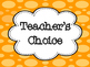 Clip It Behavior Chart- Red, Orange, Yellow, and Green