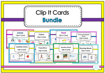 Clip It Cards Bundle