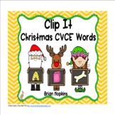 Clip It Christmas CVCE Words