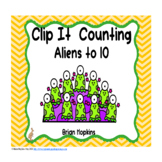 Clip It Counting Aliens to 10