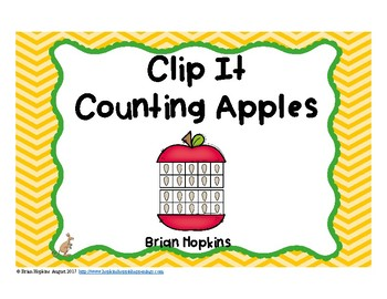 Clip It Counting Apples