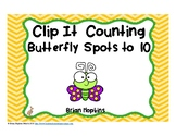 Clip It Counting Butterflies
