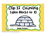 Clip It Counting Igloo Blocks