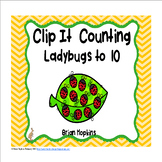 Clip It Counting Ladybugs