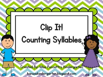 Clip It! Counting Syllables
