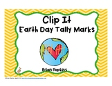 Clip It Earth Day Tally Marks