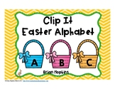 Clip It Easter Alphabet