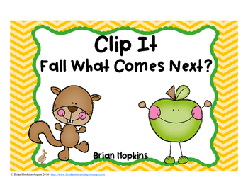 Clip It Fall After Numbers to 100