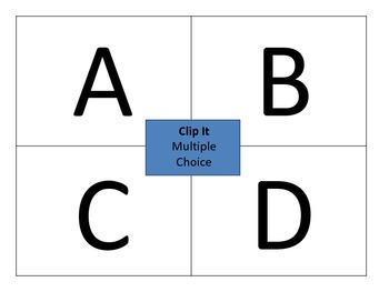 Clip It Interactive Answer Tool