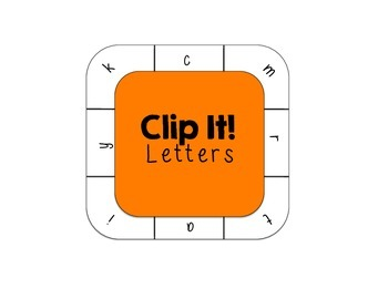 Letter Identification Literacy Station