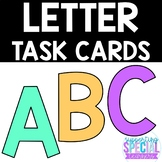 Literacy Center - Matching Identical Letter Clip It Cards