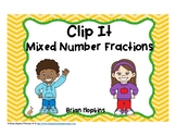 Clip It Mixed Fractions
