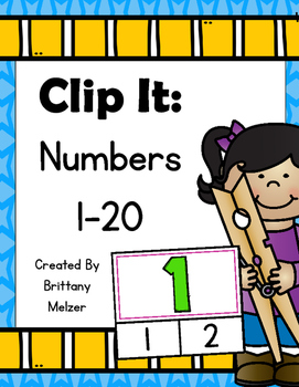 Clip It: Numbers 1-20