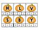 Clip It Pumpkin Alphabet
