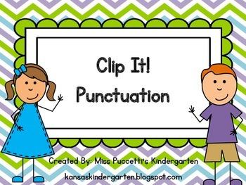 Clip It! Punctuation