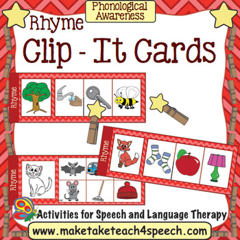 Clip It Rhyme Cards